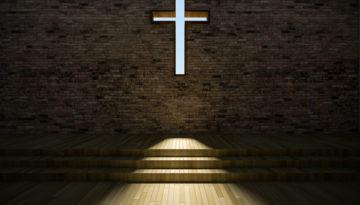 3D Modern Church Interior