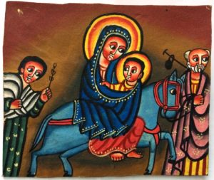 Jesus, Mary and Joseph - African