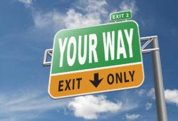 Your-way-exit