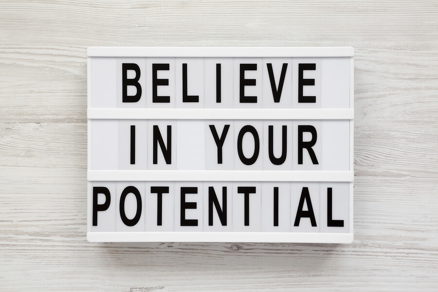 Forty Days of Apostleship: Believe in Your Potential